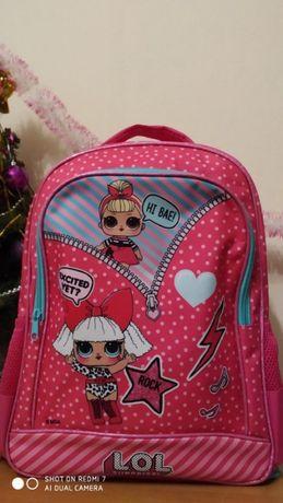 Продам розовый рюкзак ЛОЛ. LOL Отличный подарок для школы или сменки