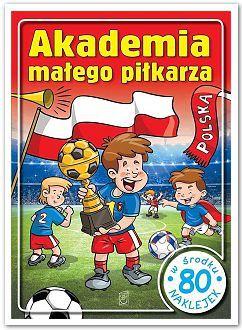 Akademia małego piłkarza 80 naklejek D025