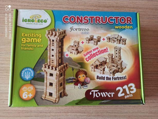 Продам Башня - деревянный конструктор Игротеко Серия Крепость