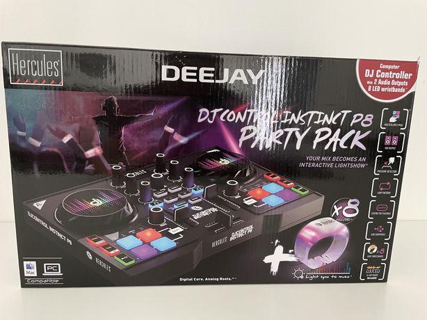 Dj Control Instinct P8, Party Pack