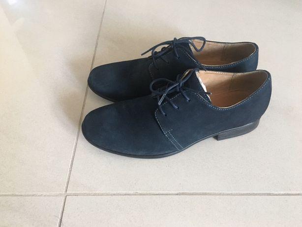 Buty półbuty chłopięce lasocki 39 jak nowe