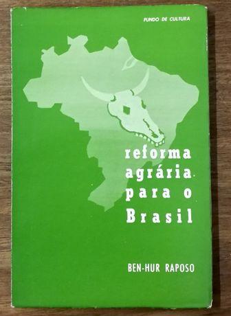 reforma agrária para o brasil, benhur raposo, fundo de cultura