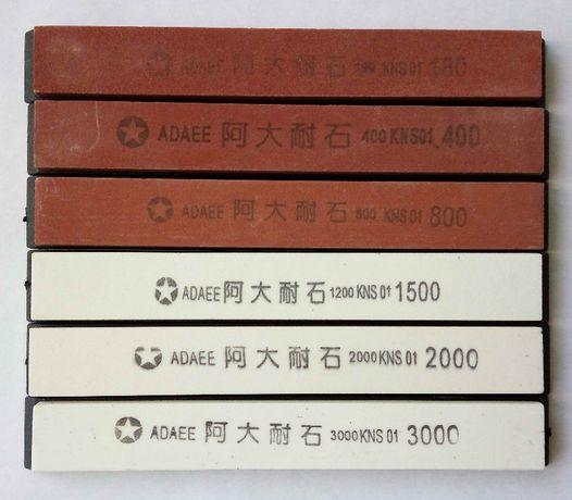 Точильные камни для точилки Apex, Ruixin набор 6 шт бруски для заточки
