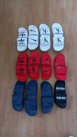 Chinelos Nike, Adidas, Hugo Boss, Lacoste, Calvin Klein