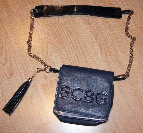 BCBG sliczna granat super stan