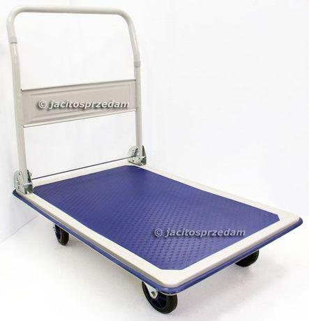 Wózek platformowy magazynowy 300 kg