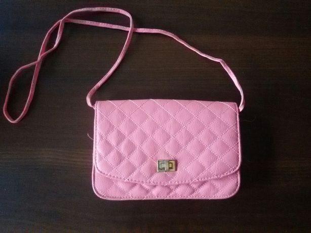Sprzedam różową torebkę firmy Tally Weijl. Prawie jak nowa