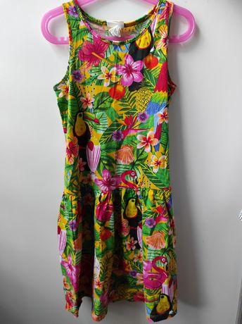Sukienka h&m, rozmiar 134/140