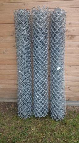 Siatka ogrodzeniowa ocynkowana wys. 1,7m długość 14mb, drut fi 3,5mm