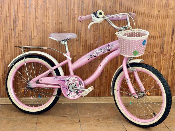 Велосипед детский для девочки 5-6 лет. Rueda