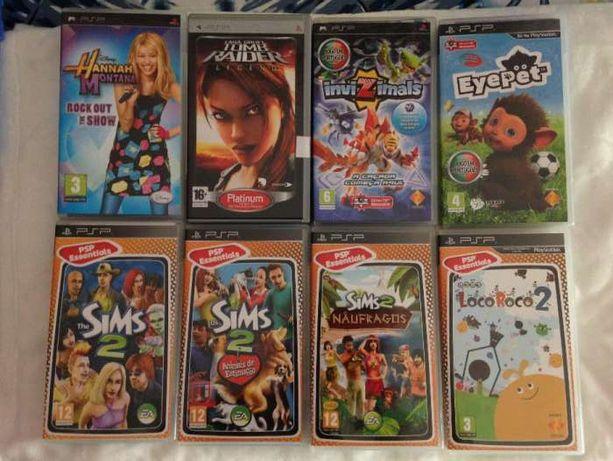 Jogos para PSP novos e originais !