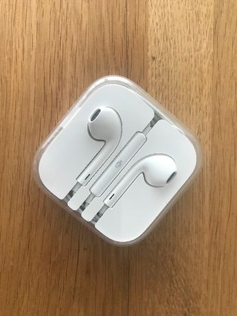 Oryginalne nowe słuchawki Apple earpods 3.5mm iPhone iPod iPad MacBook