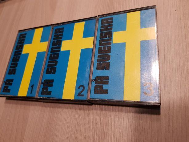 kasety magnetofonowe nauka szwedzkiego