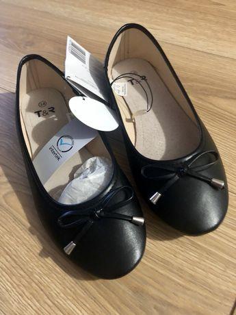 Buty Balerinki wkładka skóra rozmiar 38 Nowe