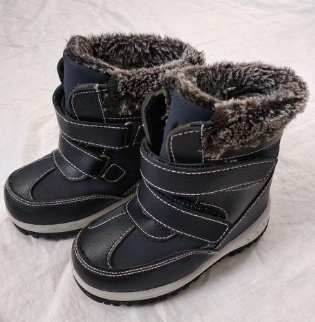Новые зимние сапожки GeeJay р.24 по стельке 16,5см зима сапоги ботинки