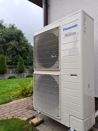 Pompa ciepła powietrze -woda EHS Samsung lub T-Cap Panasonic