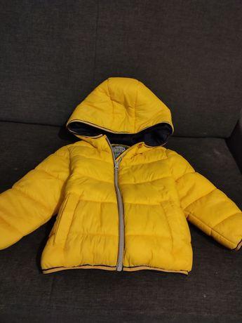 Zimowa kurtka puchowa 2-3lata F&F