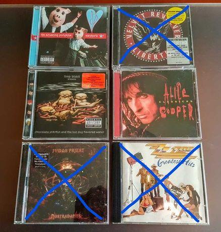 CD disco Limp Bizkit Smashing Pumpkins Alice Cooper semi-novos