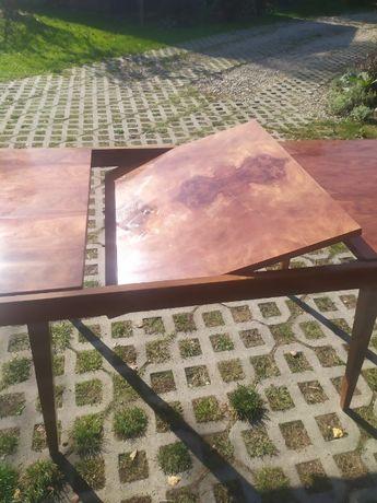 Stół rozkładany fornirowany