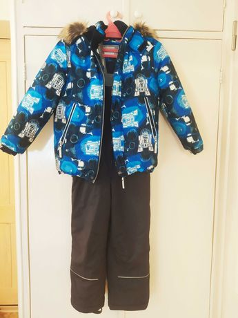 Зимняя куртка и полукомбинезон Lenne на мальчика
