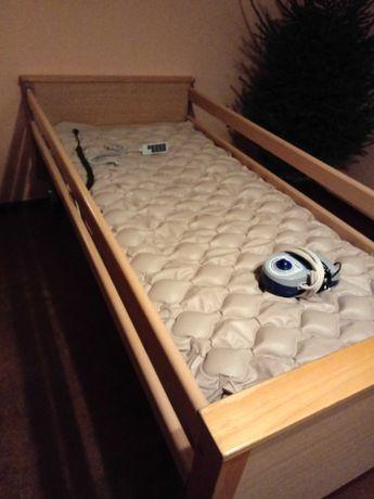Łóżko rehabilitacyjne na pilota.