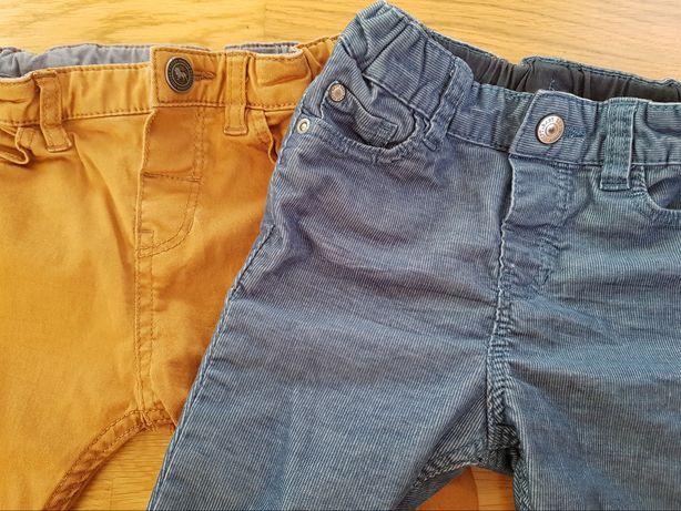 Spodnie Jeansy H&M 80 jak nowe