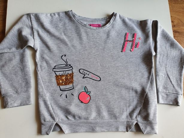 Krótka modna bluza Smyk 128
