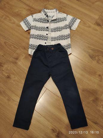 Koszula i spodnie dla chlopca