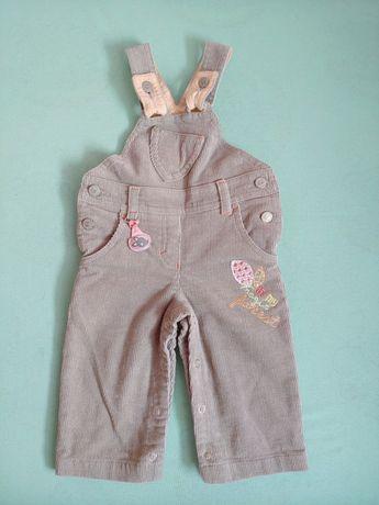 NOWE spodnie na szelkach Dadak, rozm. 68