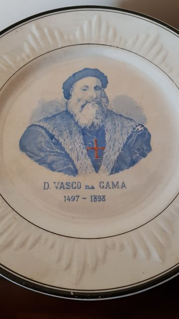 Prato da Real Fabrica Sacavém Vasco da Gama