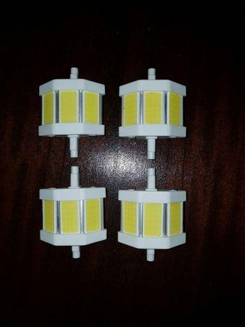 Lâmpadas Led COB R7S 5W