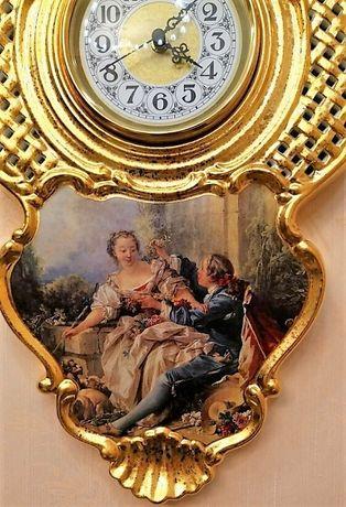 Часы фарфор Boucher Collection Италия
