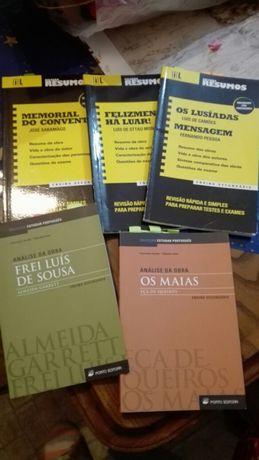Livros de apoio ao exame nacional de português