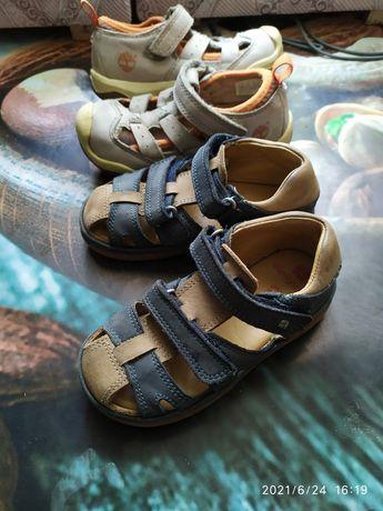 Кожаные босоножки сандали для мальчика24р.