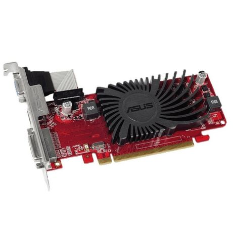 Видеокарта PCI-E ATI Radeon R5 230 1Gb GDDR3 Asus