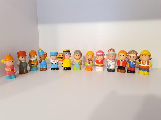 Figurka , Figurki Mix Rożne Mieszane Zestaw 13 Sztuk Ludziki