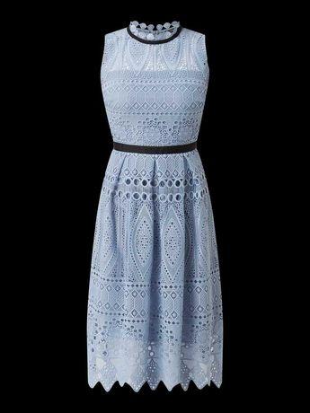 sukienka koktajlowa SWING - wesele roz. 36