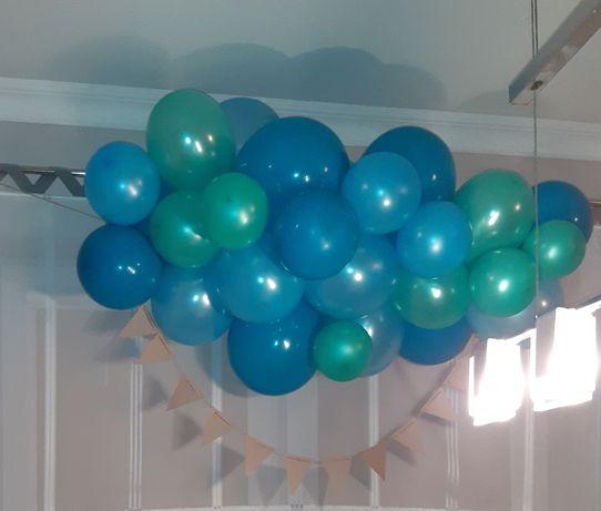 Balony, girlanda