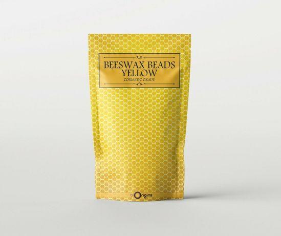 Granulowany wosk pszczeli żółty nierafinowany - 1 kg