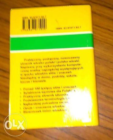 Słownik polsko- włoski, włosko- polski