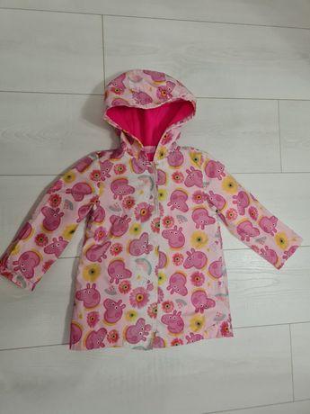 Дождевик- куртка Свинка Пеппа. 3-4 года