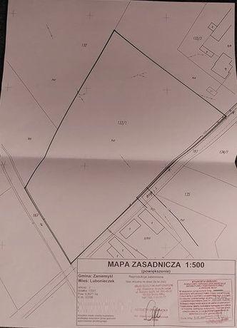 Działka budowlana - 3km od Zaniemyśla, gaz, prąd i woda
