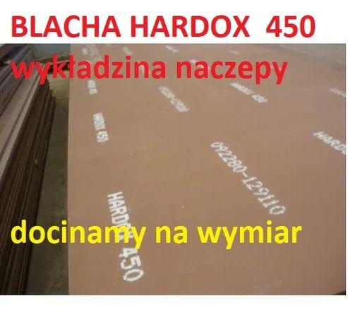 wzmocnienie naczepy Blacha HARDOX Naprawa naczep podłoga z HARDOXu
