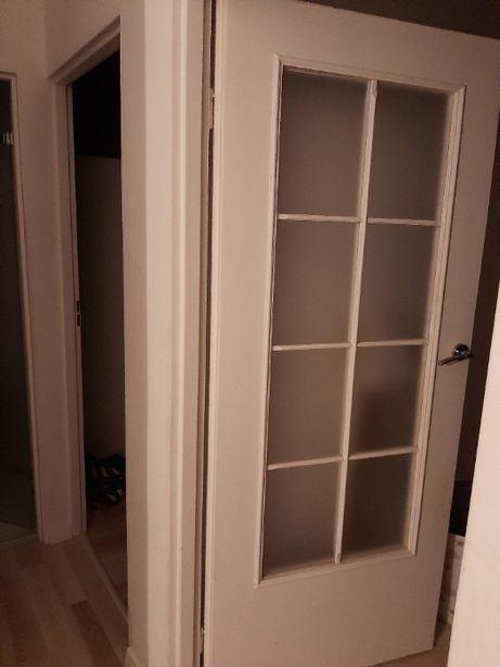 Drzwi wewnętrzne 3 sztuki