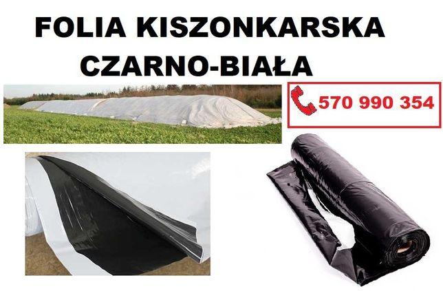 FOLIA KISZONKARSKA czarno-biała 10x33m i inne FOLIE na pryzmę, silos