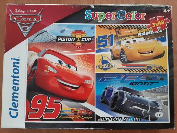 Puzzle Auta Cars 3 Disney Pixar Clementoni