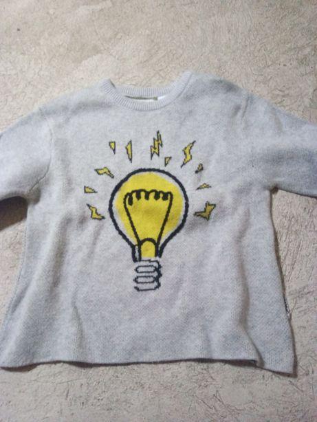 6 camisolas de lã 12/18 várias marcas