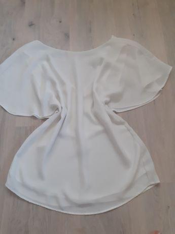 Блуза белоснежная mango