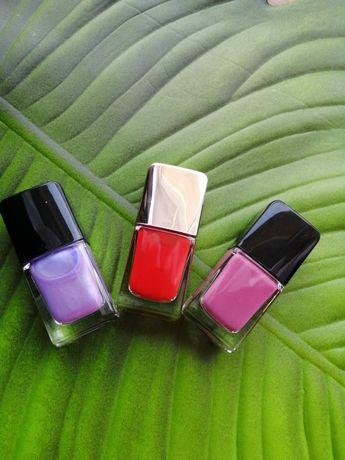 Lakiery do paznokci #czerwien #fiolet#shine
