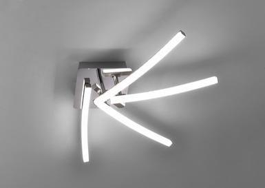 Nowoczesna lampa sufitowa LED SIMON Leuchten Direkt salon pokój kinkie